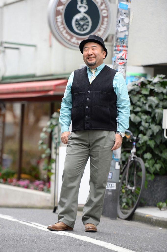 【50代の太めファッション】細見え洒落男コーデまとめ