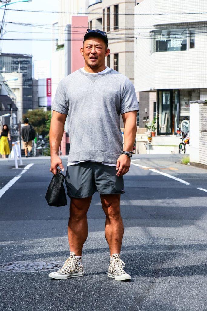 筋肉質男性のファッションコーデ!マッチョに似合う服を紹介