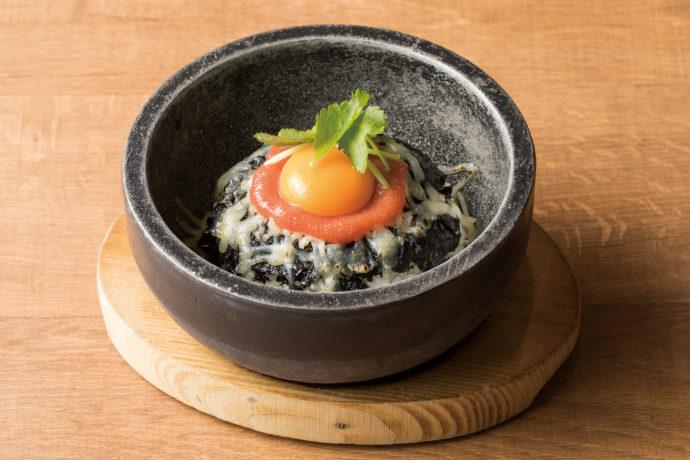 安楽亭_石焼明太チーズご飯