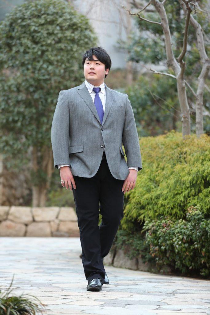 筋肉質の日本人ファッション【春】