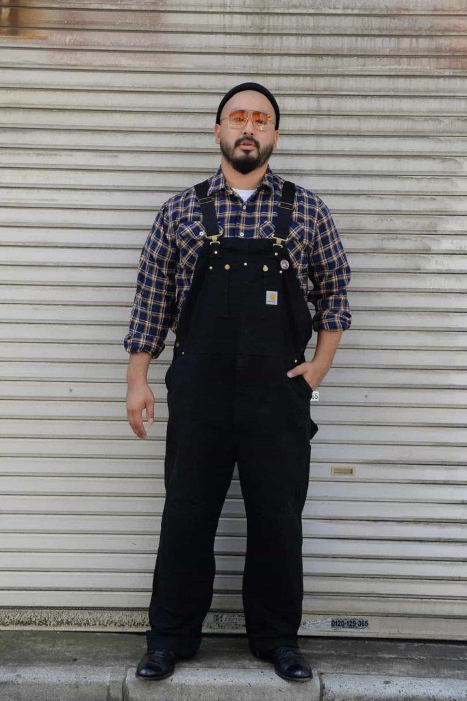 低身長筋肉質のファッションモテコーデ_3