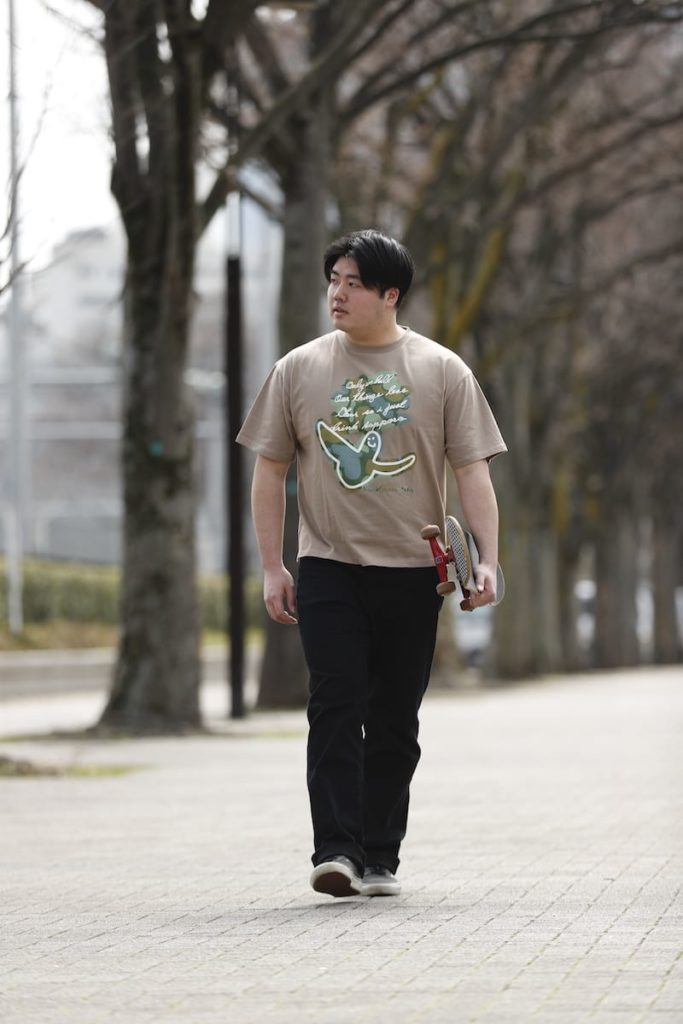 筋肉質の日本人ファッション【夏】